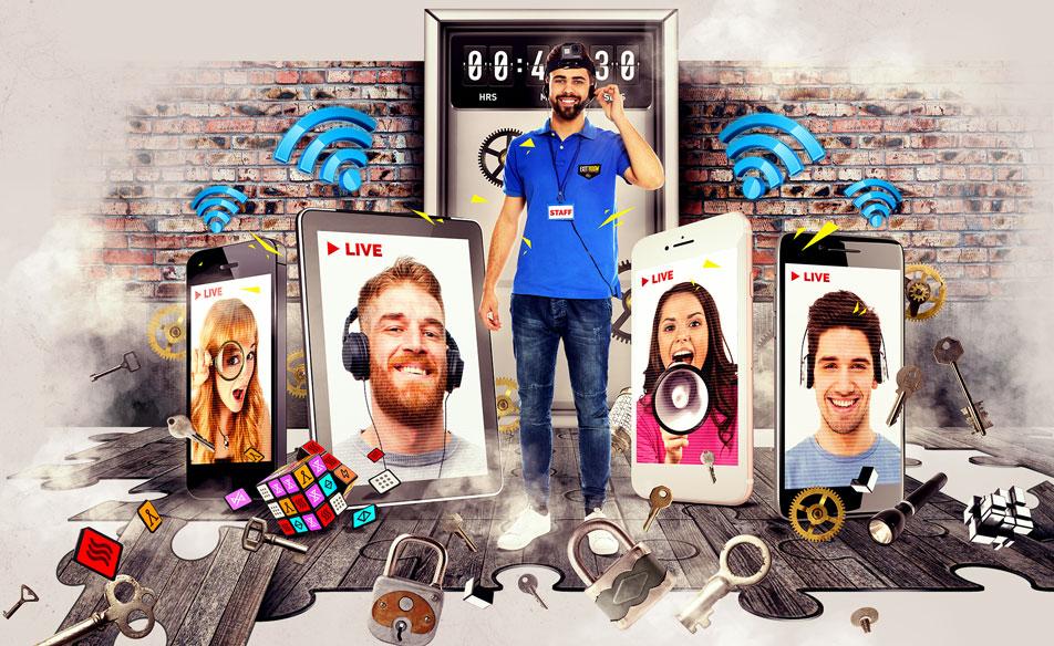 Digitális szabadulószoba? Tudunk jobbat!