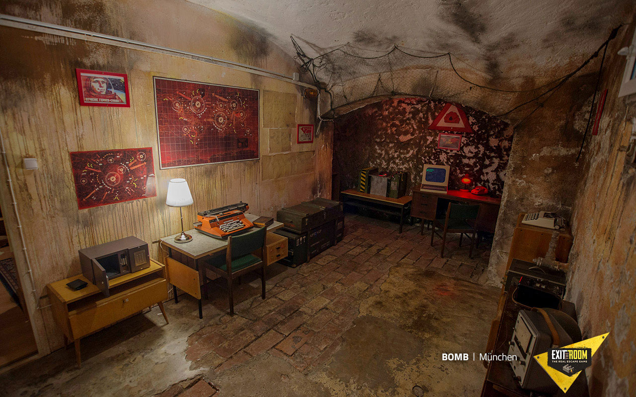 Bomb Escape Room Budapest - Exit The Room